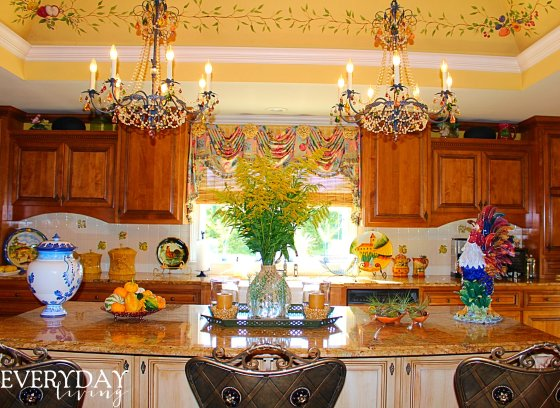 French Country Kitchen-Every Day Living-How I Found My Style Sundays- From My Front Porch To Yours