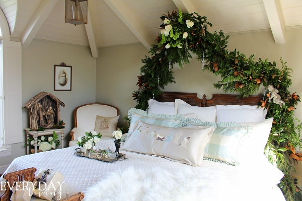 Christmas Bedroom tour at the Caroline House